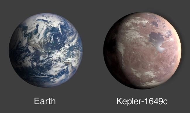 Newly Discovered Earth-Size Habitable Zone Planet Revealed NASA Image Kepler