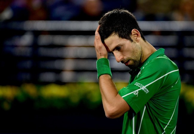 Novak Djokovic anti vaxxer tennis boycott