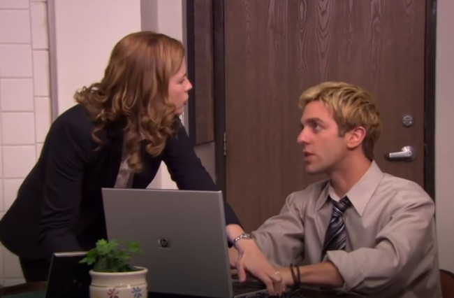 The Office tribute to Pam vs Ryan