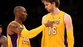 Kobe Bryant's Nickname For Pau Gasol Was Inspired By Pablo Escobar To Try And Activate His Murderous Instinct