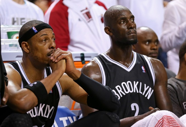Paul Pierce claims Kevin Garnett nearly fought former Nets coach Jason Kidd after blowout loss on Christmas Day once