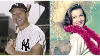 Mickey Mantle Once Vomited While Hooking Up With One Of The Biggest Sex Symbols In Hollywood