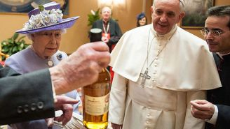Pope Francis Pissed Off The Vatican By Calling Whiskey 'The Real Holy Water' And I've Never Felt So Blessed