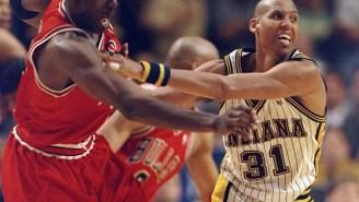 Tough Guy Reggie Miller Claims He'd Punch Michael Jordan If He Saw Him In Public Today