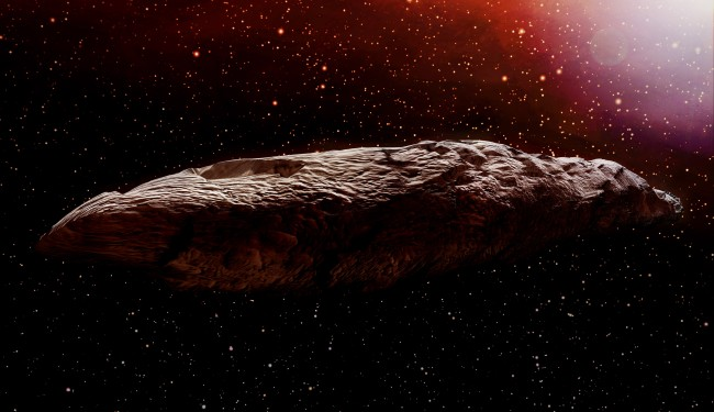 Researchers Believe Asteroid Oumuamua Was Ripped From An Alien Planet