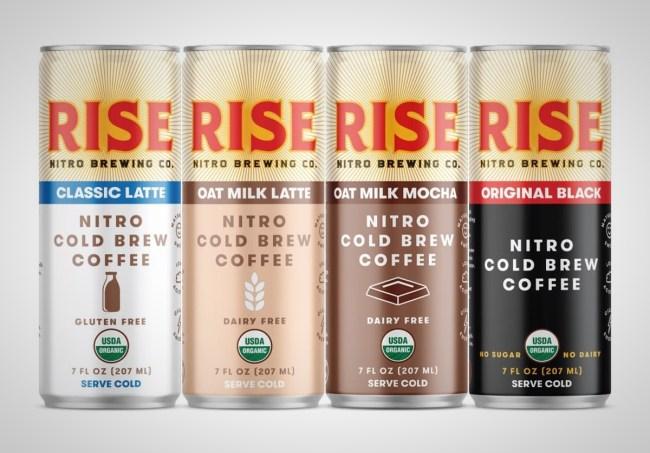 Rise Brew Co. Nitro Cold Brew Coffee
