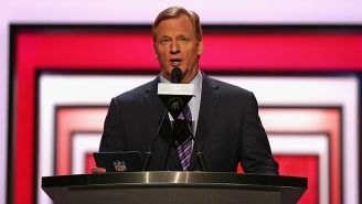Roger Goodell Will Host The First Round Of The NFL Draft From The Man Cave In His Basement