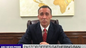 Smug Louisiana Pastor Arrested For Holding Mass With 1,200+ Imbeciles Is Doubling Down On Easter Sunday