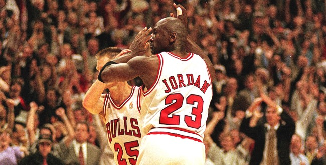 Steve Kerr Michael Jordan Trash Talked Teammates To Prep For Playoffs