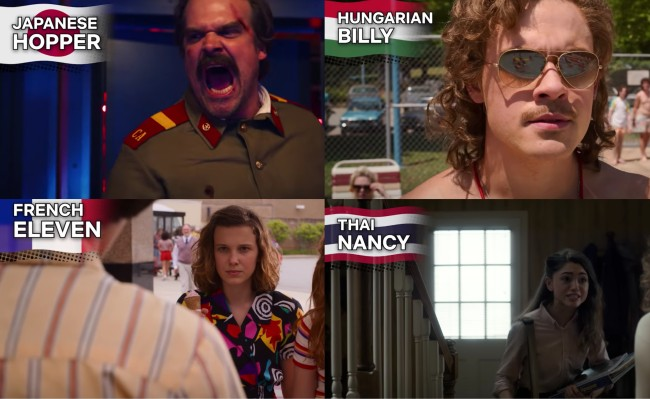 Stranger Things in Other Languages Hopper Speaking Japanese