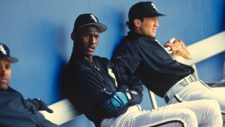 Michael Jordan's Minor League Manager, Terry Francona, Tells A+ Story About MJ's Relentless Competitiveness During Old Pickup Game