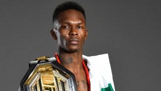 UFC Middleweight Champion Israel Adesanya Goes HAM On Troubled Light Heavyweight Champ Jon Jones