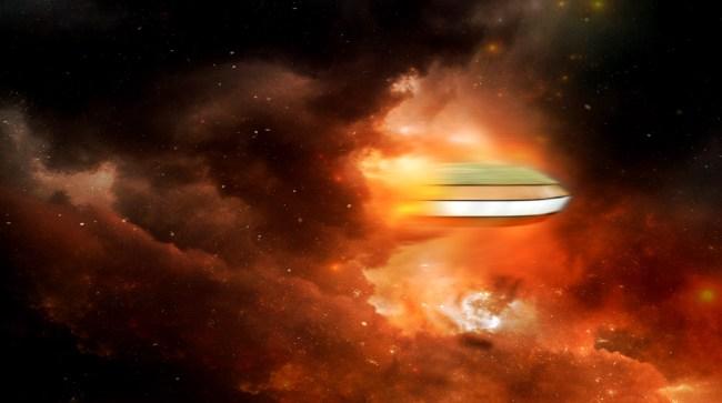 UFO Expert Tom DeLonge Shares Mysterious Video Of UFO Sighting
