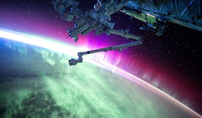 UFO On NASA Live Stream Near International Space Station
