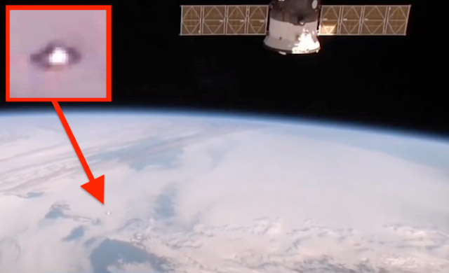 UFO Spotted On NASA Video Outside The International Space Station