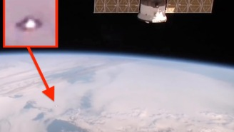 UFO Spotted On NASA Live Stream Video Outside The International Space Station Is 'Absolutely Real'