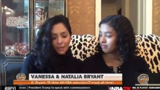 Vanessa Bryant Reacts To Kobe Bryant's Hall Of Fame Induction 'It's Definitely The Peak Of His NBA Career'