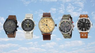 The Best Aviator Watches That Will Pair Well With Any Man's Wardrobe