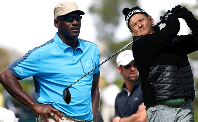 Bill Murray Talks Golfing With Michael Jordan Filming Ghosbusters
