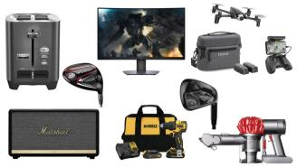 Daily Deals: Monitors, Tools, Drones, Vacuums, Nordstrom Rack Clearance And More!