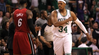 Kendrick Perkins Claims Paul Pierce Once Spit At The Bench Towards LeBron James And The Two Have Hated Each Other Since