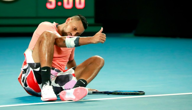 Tennis Star Nick Kyrgios Admits He Sleeps With Fans On A Weekly Basis