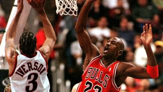 Allen Iverson Describes The Lethal Trash-Talk Michael Jordan Hit Him With To Welcome Him To The NBA