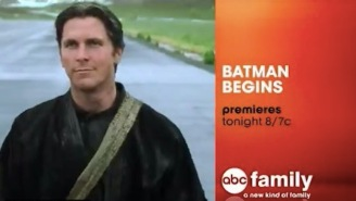 This Unearthed ABC Family Commercial That Pitches 'Batman Begins' As A Romantic Comedy Is A Total Acid Trip