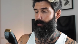 Professional Beard Model Shaves His Face For The First Time In 10 Years And His Wife's Reaction Tells The Story