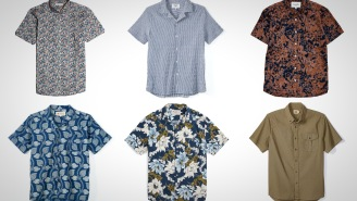 These 6 Stylish Short Sleeve Button Downs Are What Your Summer Style Needs Right Now
