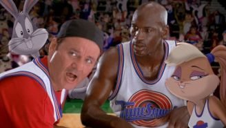 Bill Murray Says He Deserves More Credit For Helping The TuneSquad Beat The Monstars In 'Space Jam' And He's Absolutely Right