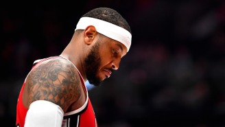 Carmelo Anthony Reveals How Much His Perspective Changed When He Hit 'Rock Bottom' Before Signing With The Blazers