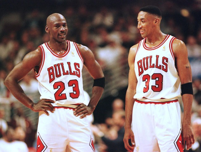 A former Chicago Bulls player, Rusty LaRue, reveals the A+ aliases that guys like Michael Jordan and Scottie Pippen used on the road during the '90s
