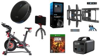 Daily Deals: Cardio Equipment, Robot Vacuums, GoPros, Tripods And More!