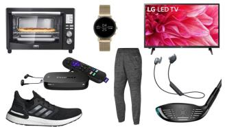 Daily Deals: Golf Clubs, Joggers, Adidas Sale, Roku Ultra, Earbuds And More!