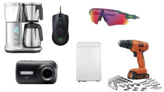Daily Deals: Coffee Makers, Strength Equipment, Drill Sets, Oakley Sunglasses Sale And More!