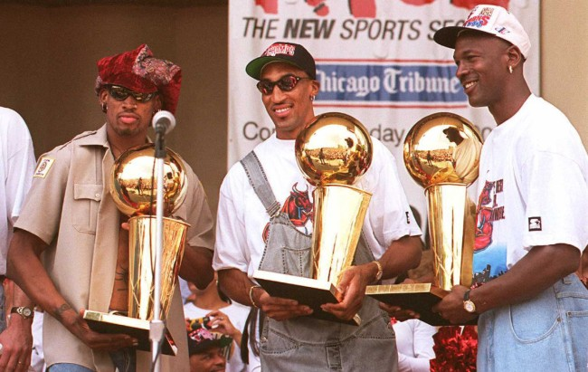 Dennis Rodman claims former Bulls teammate Scottie Pippen would be better than LeBron James if both played during the '90s