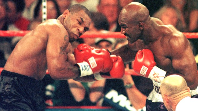 Evander Holyfield Coming Out Of Retirement Fans Want 3rd Tyson Fight