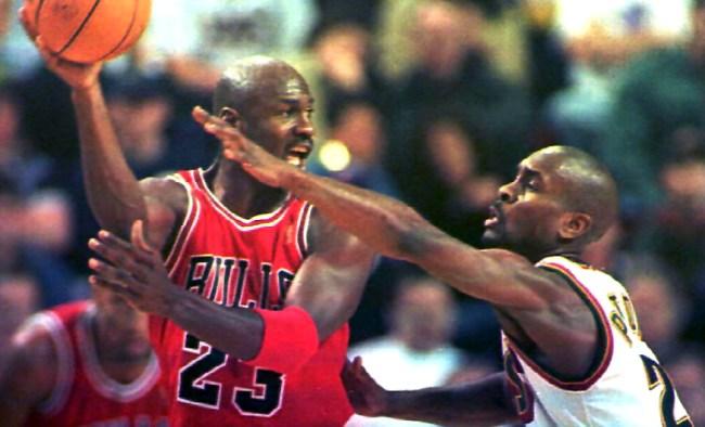 Gary Payton Reacts To Michael Jordan Laughing At Him I Was Hot