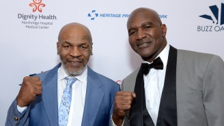 Evander Holyfield Fires Back At Mike Tyson With His Own 'I'm Back' Training Video, Says He's Willing To Fight Tyson Again For Charity