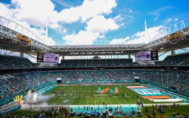 dolphins owner stephen ross nfl season fans in stadium