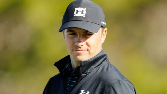 Jordan Spieth Is Claiming A Hole-In-One, Which Is Shocking Seeing As How The Ball Never Actually Went In The Hole