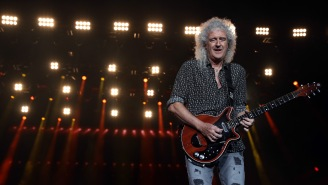 Queen Guitarist Brian May Hospitalized From Gardening So Furiously He Tore His Glutes