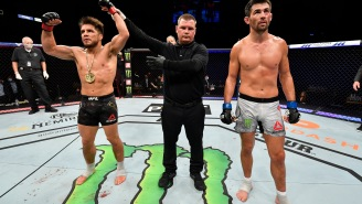 """Dominick Cruz Claims UFC 249 Referee 'Smelled Like Alcohol And Cigarettes"""" After Controversial Stoppage Against Henry Cejudo"""