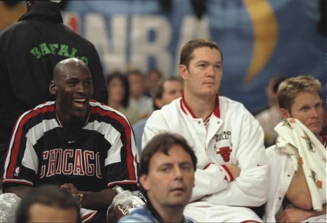 Michael Jordan Steve Kerr