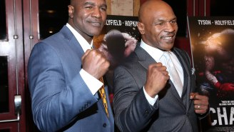 Third Fight Between Mike Tyson And Evander Holyfield Is Currently In The Works