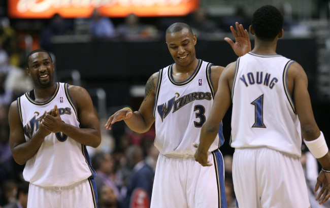 Gilbert Arenas describes the off-court antics of Nick Young and how they led to his 'Swaggy P' nickname
