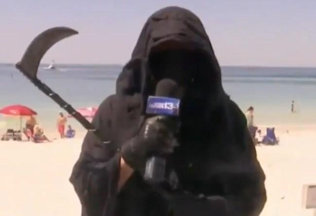 Grim Reaper News Interview