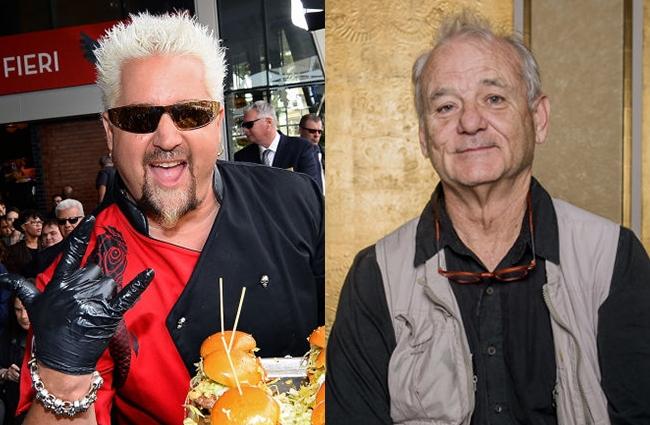 guy fieri bill murray nacho showdown