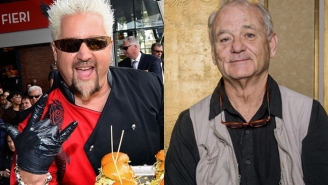 Guy Fieri And Bill Murray Are Going Head-To-Head In A Nacho Showdown To Raise Money For Out-Of-Work Restaurant Employees